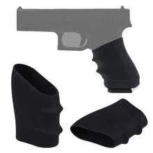 Manguito de agarre de goma (Universal), tamaño completo, antideslizante, apto para Glock17 19, 20, 26, S & W, Sigma, SIG Sauer, Ruger, Colt, modelos Beretta