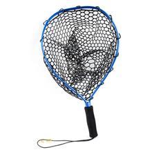 Aluminum Alloy Catch Release Net Fishing Net Fishing Landing Net Portable Folding Dip Net Fishing Accessories For Fly Fishing