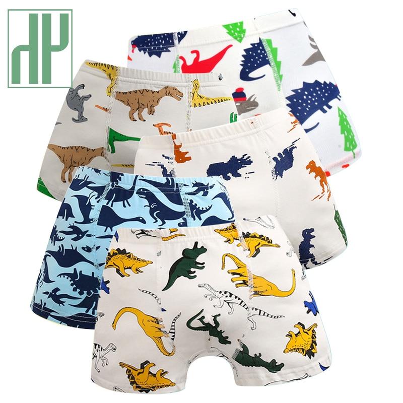 HH 5 предмета в комплекте для маленьких мальчиков нижнее белье с героями мультфильмов, детские толстовки с рисунком динозавра для девочек; Де...