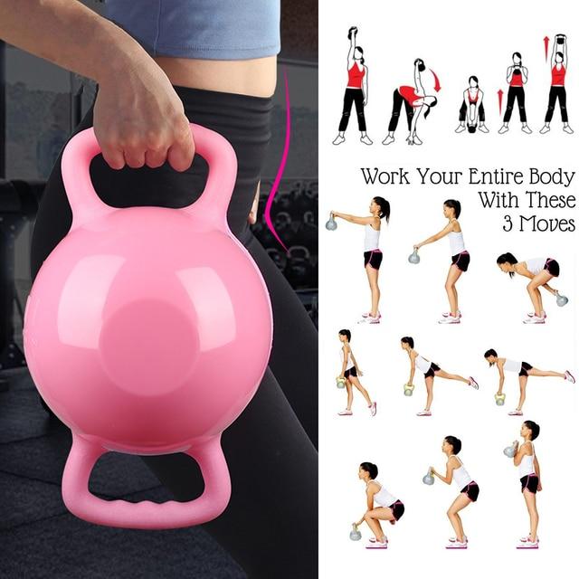 Yoga Fitness Kettle Bell  3