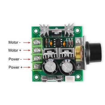 PWM Controller DC 12 V-40 V 10A Motor Geschwindigkeit 12 V Volt Spannung Control Geschwindigkeit Regler Control DC12V einstellbare Stick Modul DC24V