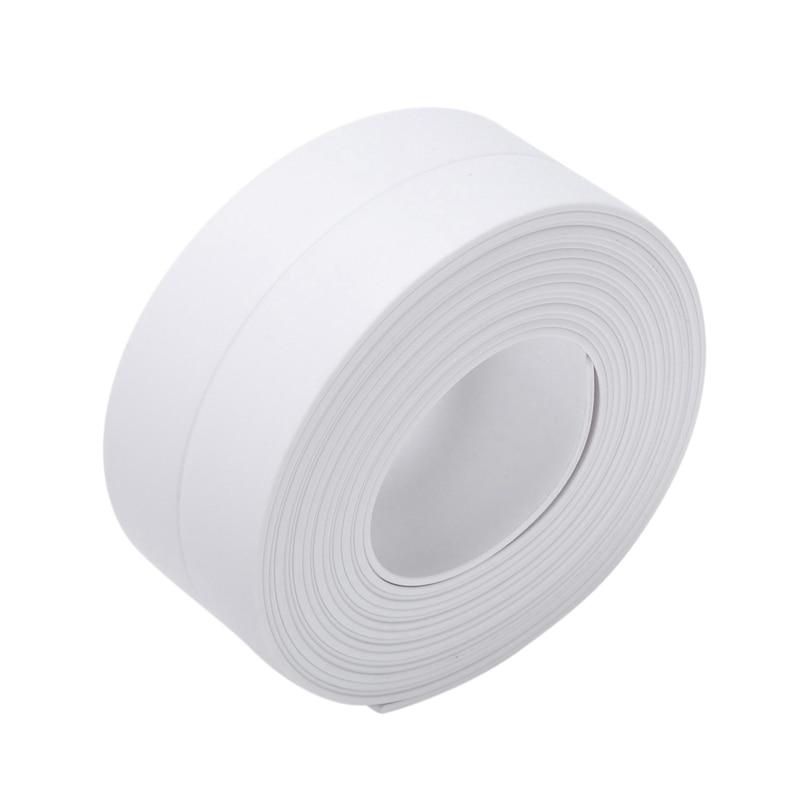3.2m * 38mm 흰색 목욕 및 벽 씰링 스트립 자체 접착 테이프 싱크 분지 가장자리-에서바다표범 사냥군부터 홈 개조 의 title=