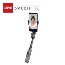 ZHIYUN SMOOTH X resmi pürüzsüz akıllı telefonlar Gimbal telefon el sabitleyici Selfie sopa iPhone Samsung Huawei Xiaomi Redmi