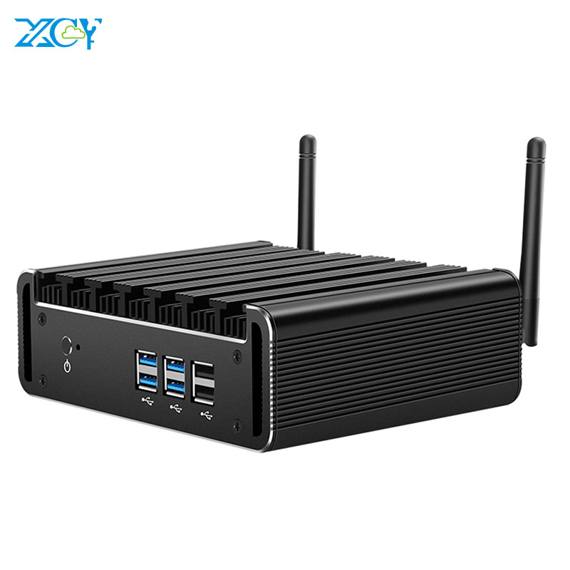 XCY X31Y Мини ПК Intel Core i7 4500U i5 4200U i3 4010U HDMI VGA 4 * USB3.0 2 * USB2.0 WiFi Windows 10 Barebone Micro Настольный ПК