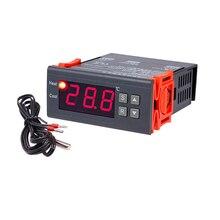 Termómetro Digital con pantalla de 1,7 pulgadas, controlador de temperatura de 50 a 110 grados Celsius, para industria, hogar, interior, granja, mascotas, 10 Uds.