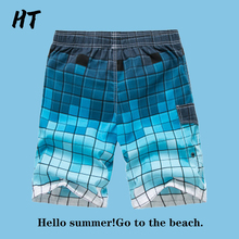 Short Pants Trunks Surfing Print Men's Beach Casual Holiday Simple New-Arrived