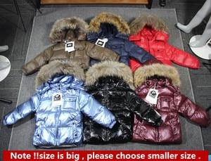 Image 4 - ブランドorangemom 2020冬の子供服ジャケットコート、子供服上着コート、白アヒルダウンガールズボーイズジャケット