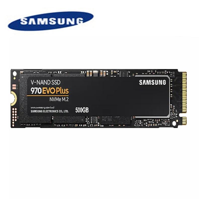 100% Original Samsung 970 EVO Plus SSD M2 250GB 500GB 1 to NVME interne SSD SSD disque dur à semi-conducteurs pour ordinateur