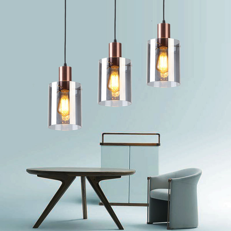 Nordic Deco Chambre  Hanging Ceiling Lamps Wood Bedroom  Restaurant   Living Room  Industrial Lamp Lustre Pendente Deco Maison