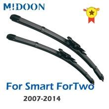 MIDOON silecek LHD ön cam silecek lastikleri akıllı ForTwo için W451 2007 - 2014 için ön cam ön cam ön cam 23