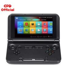 GPD XD Plus مشغل ألعاب محمول باليد وحدة تحكم ألعاب ريترو PS1 N64 أركيد تيار مستمر شاشة 5 بوصة تعمل باللمس أندرويد وحدة المعالجة المركزية MTK 8176 4GB/32GB