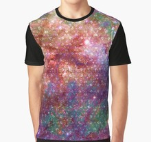All Over Print 3D Tshirt Candyland [Tarantula Nebula] Full Print Big print Graphic T Shirt(China)