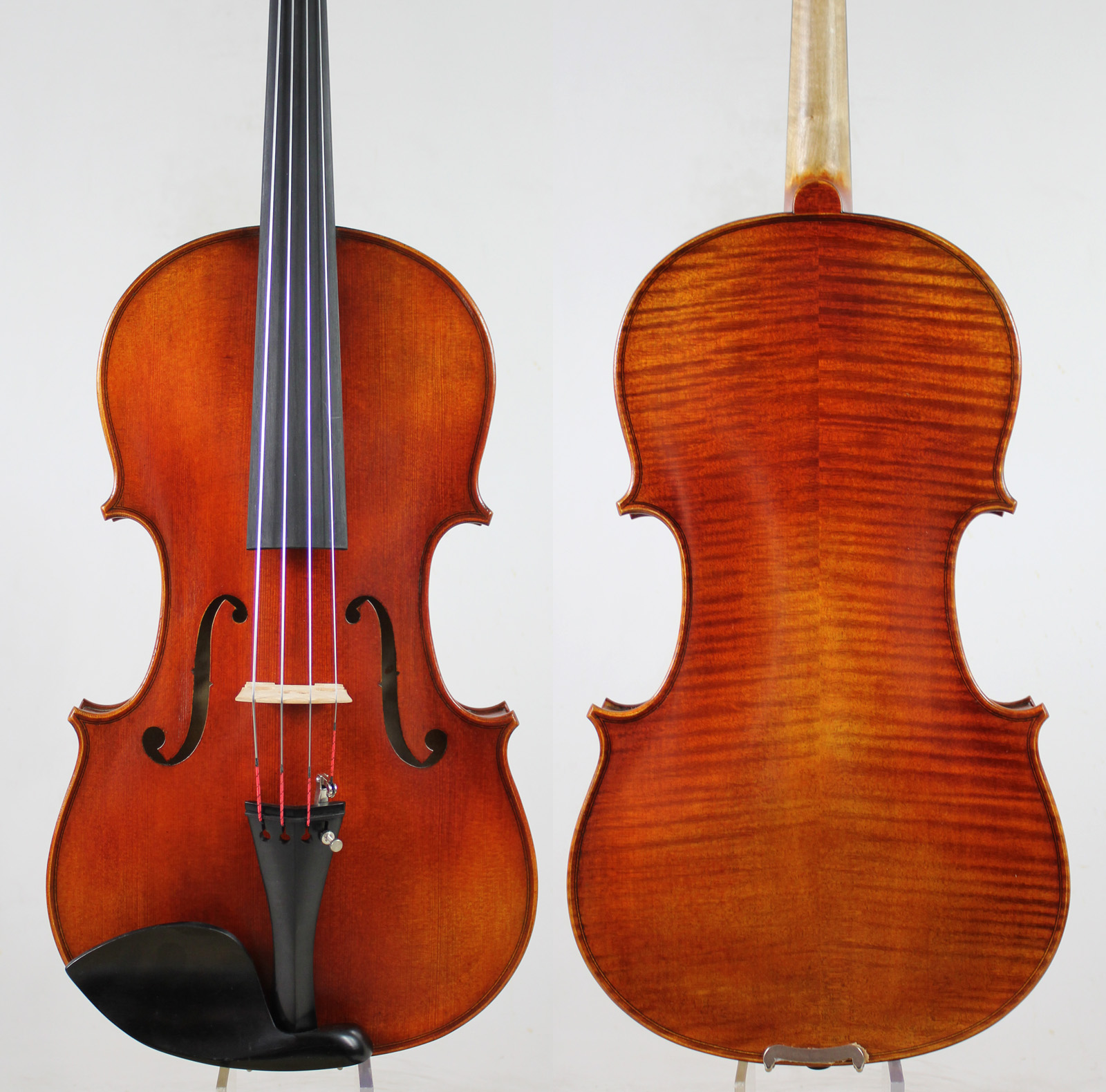 Special offer! A Professional Viola,15.5 inch Choice, Oil Varnish, Warm Deep Tone!European Wood,Free Shipping!!!