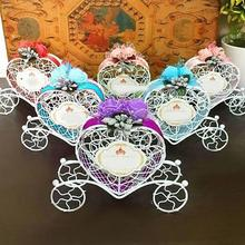 Carriage Heart Couch Sweets Chocolate Candy Box Birthday Gift Wedding Party Favours candy Box Wedding
