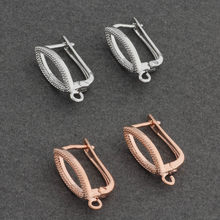 Charm Earring Hooks Accessories Copper For DIY Making Supplies For Handmade Making Wholesale Lots Of Accessories For Women