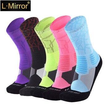 L.Mirror 1Pair Professional Brand Sport Outdoor Socks Breathable Road Bicycle Socks/Mountain Bike Socks/Racing Cycling
