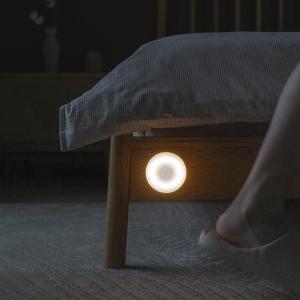 Image 3 - Oryginalny Xiaomi Mijia LED korytarz lampka nocna pilot na podczerwień czujnik ruchu ciała lampa Smar noc w domu