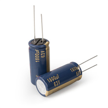2pcs Free shipping 1800UF63V FC audio capacitor can replace 1000UF