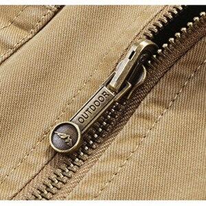Image 5 - Colete dos homens Roupas Militares Do Exército Tático Muitos Bolsos do Colete Jaqueta Sem Mangas Plus Size 6XL 7XL 8XL 9XL grande saco de Viagem Masculino casaco
