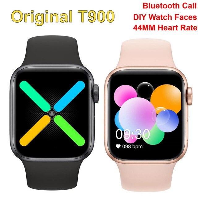 Smart Watch T900 Bluetooth Call Music Heart Rate Sports Smartwatch 44MM 1