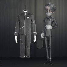 Game Identity V Cosplay Costumes Embalmer Aesop Carl Cosplay Costume Uniform Halloween Party cosplay for Women Men Customized(China)