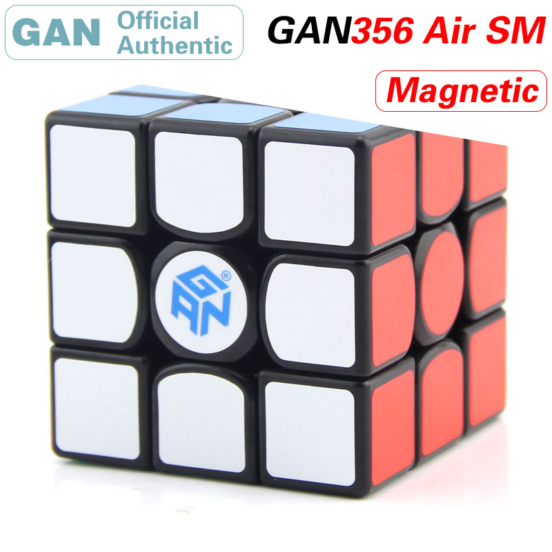 GAN 356 Air S M Magnetic 3x3x3 Magic Cube 3x3 GAN356/356Air SM Professional Speed Cube Puzzle Antistress Toys For Children