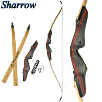 62 Recurve Bow Takedown 25 50lbs Archery Takedown American Wood Longbow Hunting High quality bamboo production Long Bow