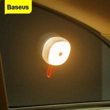 Baseus Portable Solar lampka nocna lampka do czytania do samochodu/domu latarnie magnes mały samochód światło awaryjne ładowane Nightlight