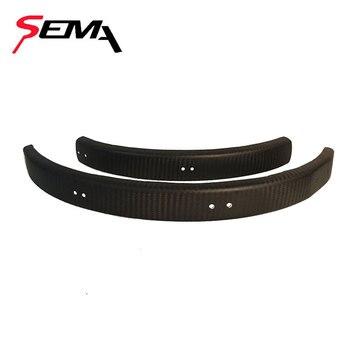 16 Zoll Felge | Carbon Fender/kotflügel SEMA Für 16 Zoll Brompton Fahrrad Felgen Beste Qualität Ein Paar Von Splash Schutz Durable Carbon Faser