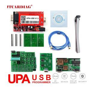 USB программатор UPA, USB V1.3 V2014 программатор с полным адаптером с функциями NEC 40Pin Zif SOIC 93C чип 24C01 85C92