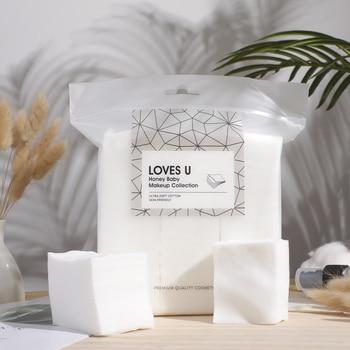 1000Pcs Makeup Cotton Disposal Face Towel Cotton Pads Seal Makeup Remover Wipes Disposable Face Towel Manicure Wipe недорого