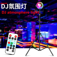 Tripod main live equipment atmosphere light support frame home ktv atmosphere light led voice control music rhythm lamp CD50 T07