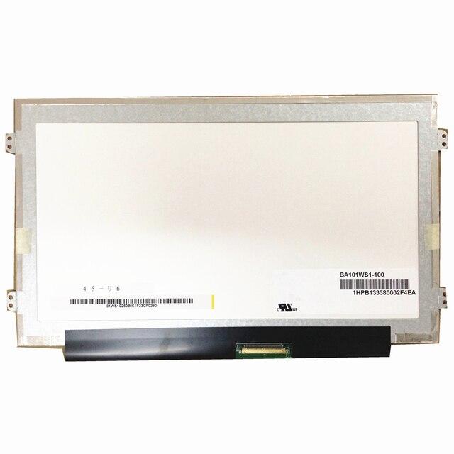 BA101WS1 100 BA101WS1 100 B101AW06 V.1 N101L6 L0D LTN101NT08 Para Lenovo S100 S110 40 S120 TELA LCD 1024*600 LVDS Pinos