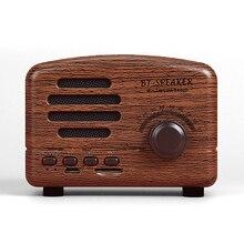 Mini altavoz Raido Radio Estilo Vintage Bluetooth V4.0 compatible con tarjeta FM TF Mini altavoz inalámbrico UY8