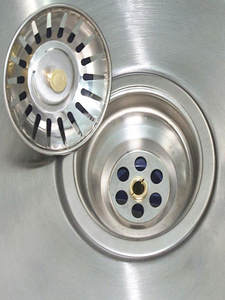 SINK-FILTER Drains Household-Accessories Stainless-Steel Stopper Hair-Catcher Waste-Plug