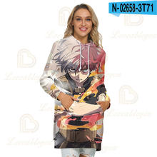 Новый принт мой герой Худи женское платье на каждый день с карманами