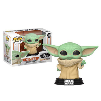 Funko Pop STAR WARS THE CHILD Bay Yoda #368 Dolls Toys Yoda Baby Vinyl Action Figure Model Toys Gifts for Kids funko pop back to the future 2 marty mcfly dr emmett brown vinyl dolls action figure collectible model toys for child with box