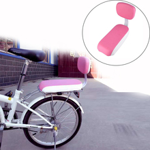 Cycling Saddle Bike Rear Seat PU Leather Back with Soft Cushion Carrying Bicycle Accessories