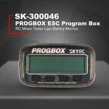 SKYRC PROGBOX Six-in-one Program Box for RC Model ESC Setting Servo Motor KV/RPM Tester Lipo Battery