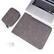 Чехол из мягкой искусственной кожи для ноутбука Macbook Air Pro 13, 14, 15 дюймов, 13,3 дюйма, чехол для планшета Xiami, DELL, Lenovo