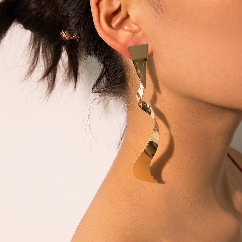 LENAZI Fashion jewelry-Sequins for Mesh Tassel Drop Dangle Earrings for Trendy Women Girls