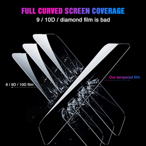 Image 4 - 111D 保護ガラス Huawei 社の名誉 20 プロ 10 Lite 8 9 V10 V20 強化ガラスのため 20 Lite スクリーンプロテクターフィルム