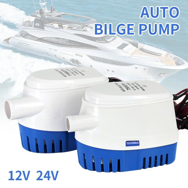 bomba de agua automatica 12 v 24 v 750gph 1100gph do porao para a bomba de