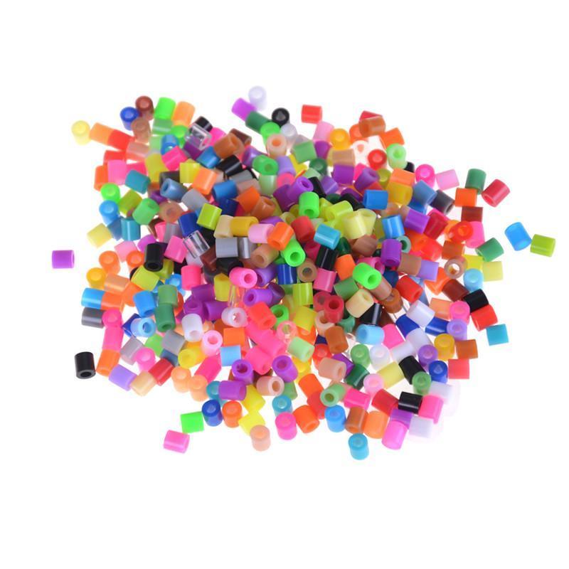 1000 Pcs/Bag Hamma Beads 5mm Color Random Fuse Beads Kit Toys For Children DIY Intelligence Educational Toys Craft Puzzles