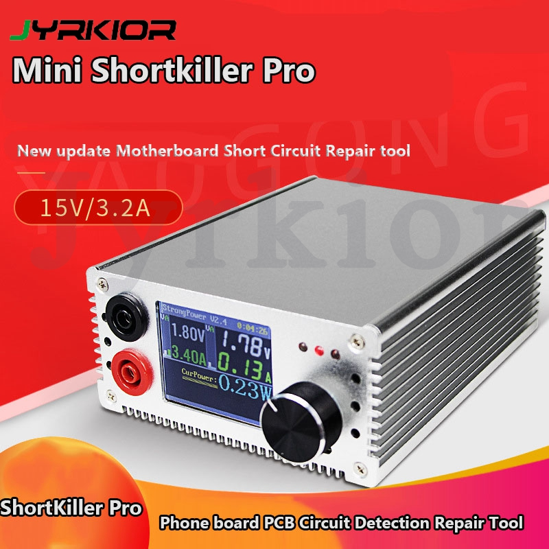 ShortKiller Pro with LCD Display Motherboard Circuit Detection Tool Box Short Circuit Burning Repair Tool Short killer Repair Hand Tool Sets     - title=