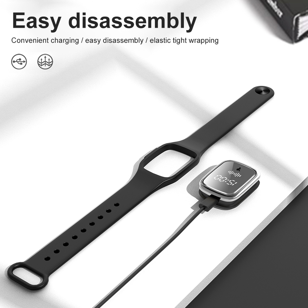 Anti Mosquito Insect Digital Watch Kids Adult Ultrasonic Bug Repellent Wristband 3