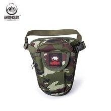 Men's belt bag Tactical Pouch Belt Waist Pack Bag Small Pocket Military Waist bag Running thigh bag Pouch Travel Camping Bags
