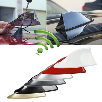 Car Shark Fin Antenna Auto Radio Signal Aerials Roof Antennas for BMW/Honda/Toyota/Hyundai/Kia/Nissan Car Styling & 2Sided Tapes image