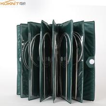 11 размеров Набор круглых вязальных спиц из нержавеющей стали