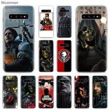 Чехол для телефона Death Stranding для samsung Galaxy S10 S10e S8 S9 S10 Plus S7 Edge Note 10 Plus 8 9 Твердый Чехол